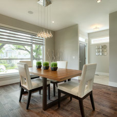 Contemporary Dining Room by A|K Design & Development Inc.