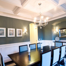 Traditional Dining Room by dC Fine Homes & Interiors