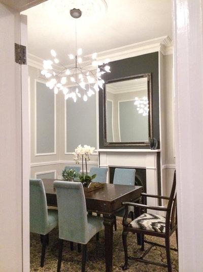 Contemporary Dining Room by Ioanna Lennox Interiors