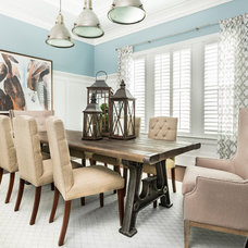 Traditional Dining Room by Innovation House GA