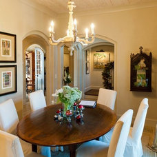 Traditional Dining Room by Christopher Architects and Interiors
