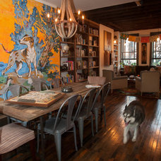Eclectic Dining Room by Jason Snyder