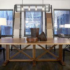 Modern Dining Room by interieurs by Francine Gardner