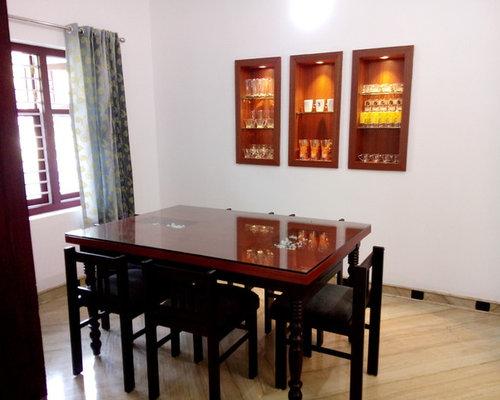 Kerala dining room design ideas remodels photos for Dining room designs in kerala