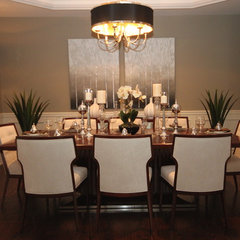 traditional dining room by Design To Go