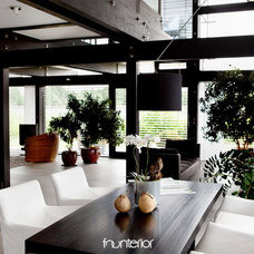 Contemporary Dining Room by Founterior