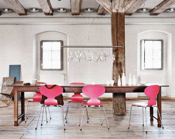 Contemporary Dining Room by Republic of Fritz Hansen UK