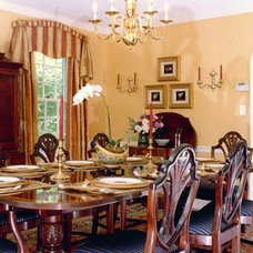Traditional Dining Room by Camille Garro Interiors
