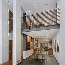 Contemporary Dining Room by Gallin Beeler Design Studio
