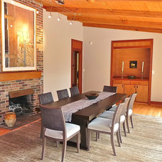 Contemporary Dining Room by Interior Makeovers by Annie OCallaghan