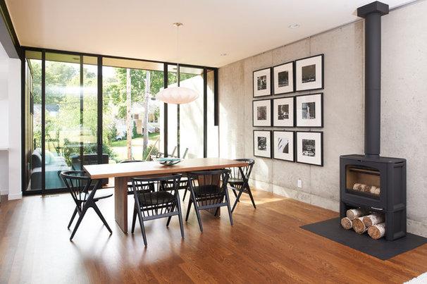 Modern Dining Room by CITYDESKSTUDIO, Inc.