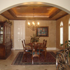 Traditional Dining Room by Gabay Custom Builders, INC