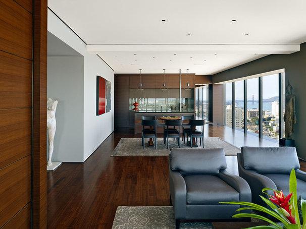 Contemporary Dining Room by Zack|de Vito Architecture + Construction