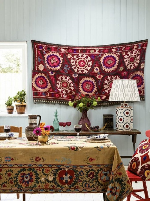Boho chic dining room design ideas remodels photos for Bohemian dining room decorating ideas