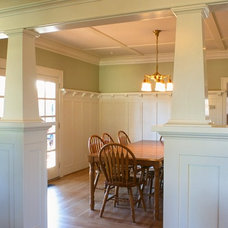 Craftsman Dining Room by Full Circa, Inc.