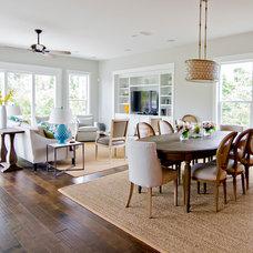 Beach Style Family Room by Glenn Layton Homes