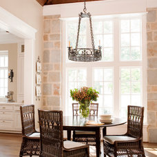 Traditional Dining Room by Jeff Herr Photography