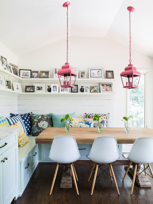 bucket chair dining room design ideas, remodels & photos