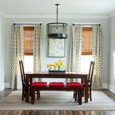 Eclectic Dining Room by Jeff Herr Photography