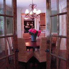 Traditional Dining Room by Jennifer Reiser Interiors