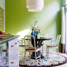 Transitional Dining Room by Kyle Schuneman | Live Well Designs