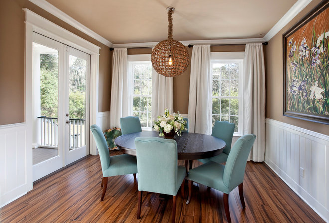 Traditional Dining Room by Matthew Bolt Graphic Design