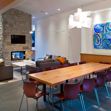 Contemporary Dining Room by Revival Arts | Architectural Photography