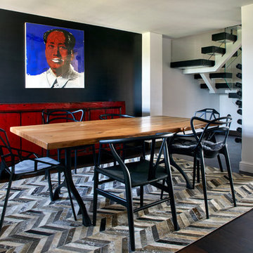 Interiors with Art In Canary Wharf