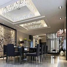 Contemporary Dining Room by Tres Jolie Maison Inc/Sue-Jolie Rioux, ASID, IIDA