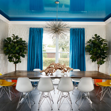 Into The Blue Dining Room