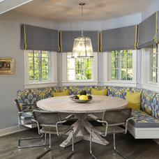 Transitional Dining Room by Insignia Homes