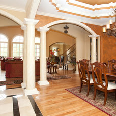 Traditional Dining Room by Cablik Enterprises