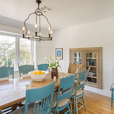 Farmhouse Dining Room by thea home inc