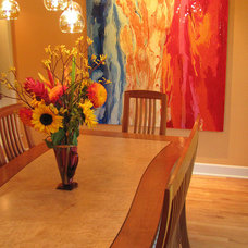 Contemporary Dining Room by Irene Turner: Real Estate Sonoma Style™