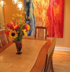 contemporary dining room by Irene Turner at Home
