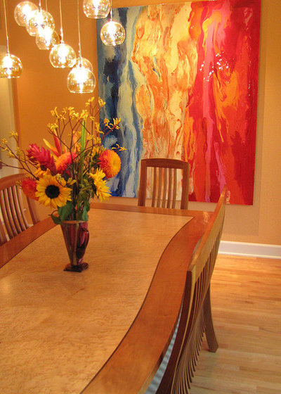 Contemporary Dining Room by Irene Turner: IT Sonoma Style