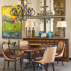 Traditional Dining Room by D'Hierro Hand Forged Iron
