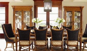 Island Estate 11 Piece Grenadine Rectangular Table With Cruz Bay Host And Mangro