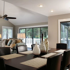 Traditional Dining Room by Dullea and Associates Inc.