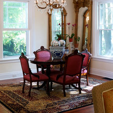 Traditional Dining Room by Restoring our 1890 Victorian