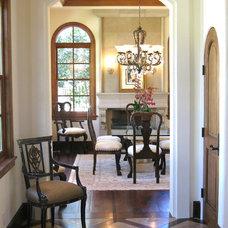 Mediterranean Dining Room by Maraya Interior Design