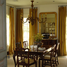 Traditional Dining Room by Savant Design Group