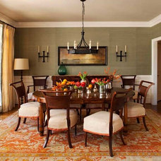 Eclectic Dining Room by TerraCotta Properties