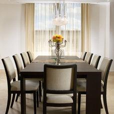 Modern Dining Room by J Design Group - Interior Designers Miami - Modern