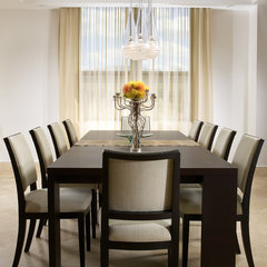 modern dining room by J Design Group - Interior Designers Miami - Modern