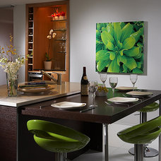 Contemporary Dining Room by J Design Group - Interior Designers Miami - Modern