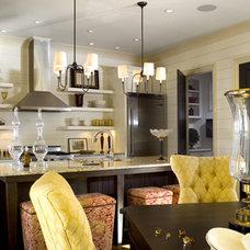 Traditional Dining Room by J. Hirsch Interior Design, LLC