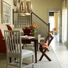 Transitional Dining Room by J. Hirsch Interior Design, LLC