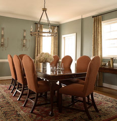 traditional dining room by Janie K. Hirsch, ASID