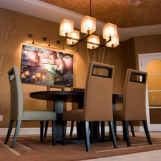 Contemporary Dining Room by DIVA INTERIOR CONCEPTS